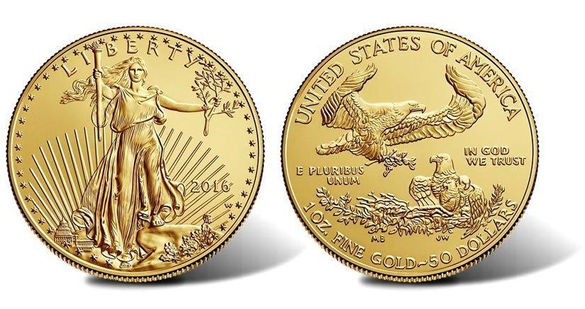 1_oz_American_Gold_Eagle_BU - LECANTO COIN SHOP