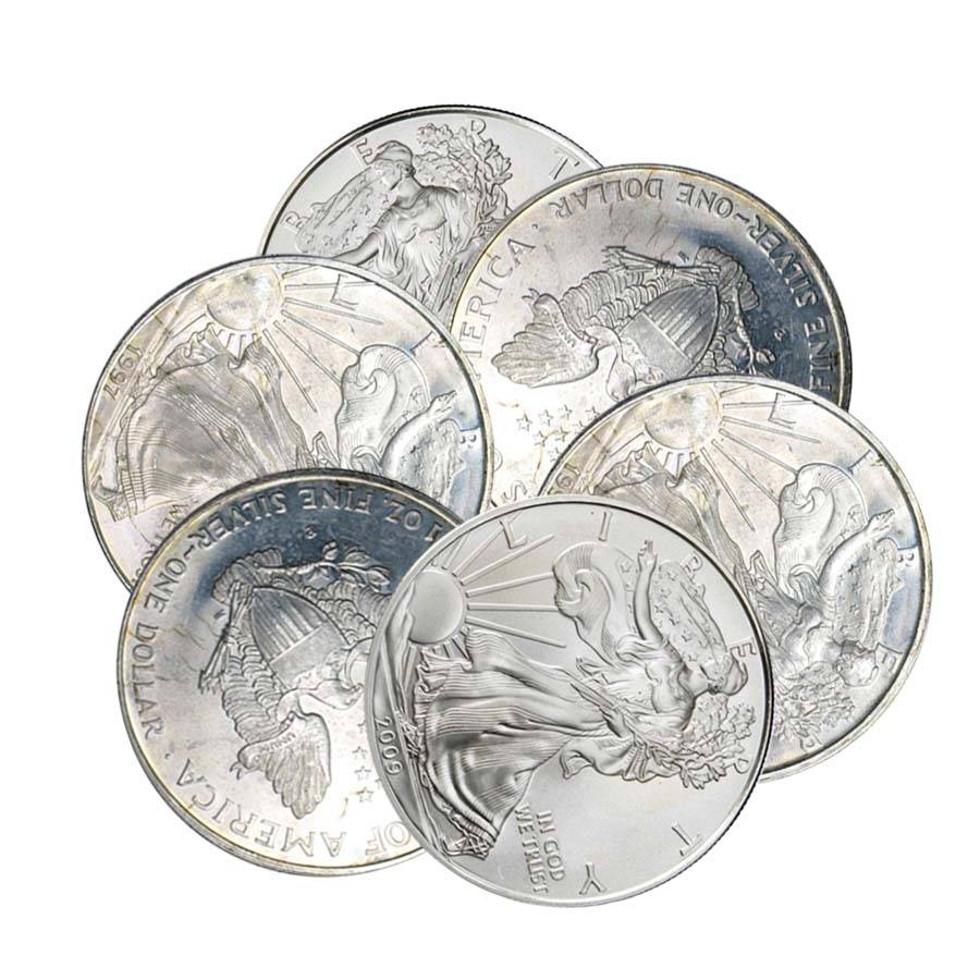 1_oz_American_Silver_Eagles_Off_Quality 999 SILVER COINS BUYER
